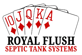 Royal Flush Septics Logo